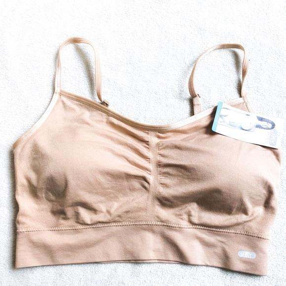 850966c519105 NWT Seamfree Jockey Nude Bralette Cami